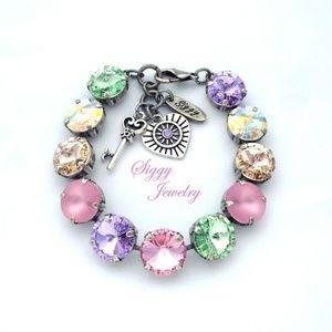 Swarovski® Crystal Bracelet, Day Dreaming Pastels